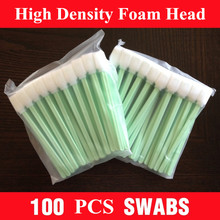 100 pcs - Best Great gun cleaning tool - swab sticks - Safe to use with all the usual gun cleaning solvents and lubricants(China)