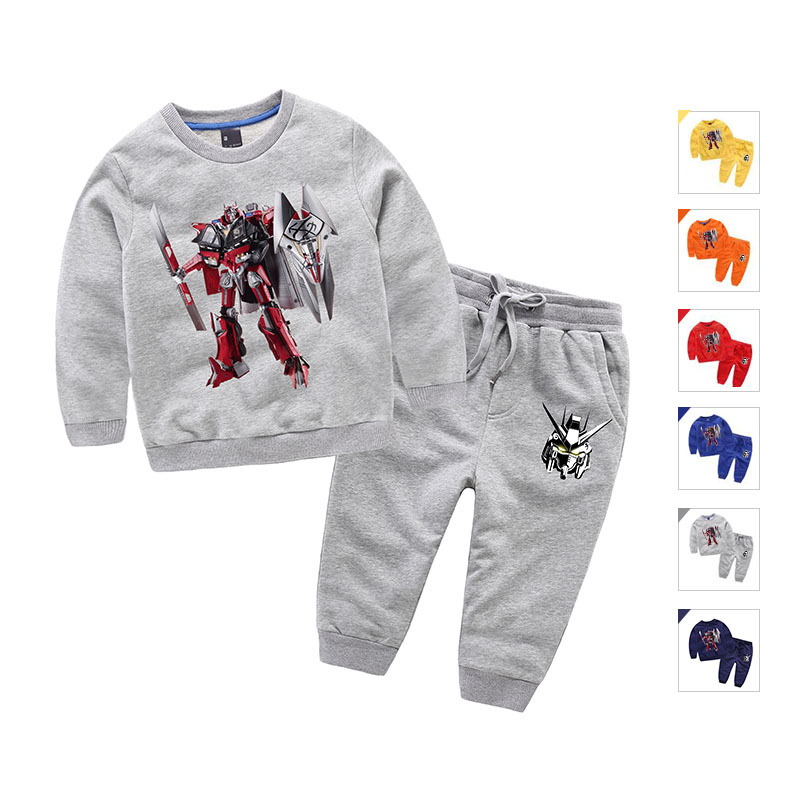 Transformers Cartoon Boys Clothing Set Kids Sports Suit Pokemon Children Clothes Set Christmas Warm Sweatshirt Casual Clothes<br><br>Aliexpress