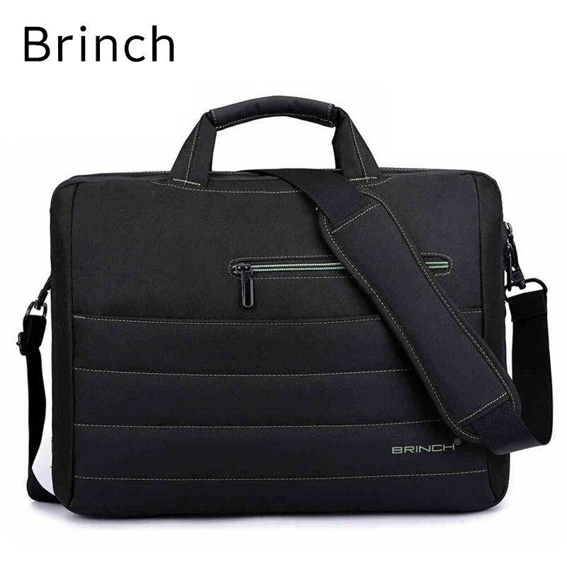 2018 New Brand Brinch Nylon Messenger Handbag For Laptop 15,15.4,15.6,17,17.3, Bag For Macbook Notebook, Free Drop Shipping<br>