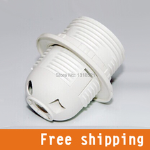 E27 LED Plastic lamp Holder E27 Converter Edison screw Light Bulb socket Holde  Free Shipping