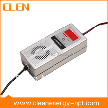 24V Car Battery Charger 4A Lead Acid Battery Charger Reverse Pulse Desulfation Battery Maintenance(China)