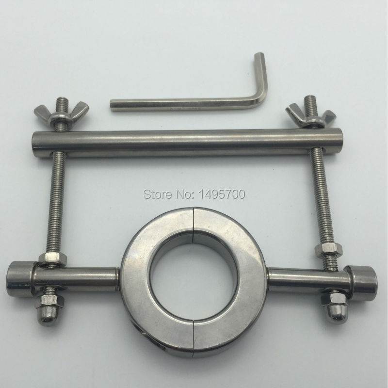 Stainless steel heavy - duty testicle clamp Egg - egg binding ring elongation stretch<br>