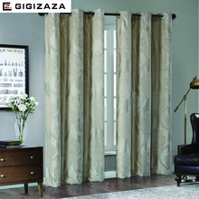 Pandora Jacquard window curtains heavy fabric high quality with silver wire embed 60% shading for livingroom floral ivory color