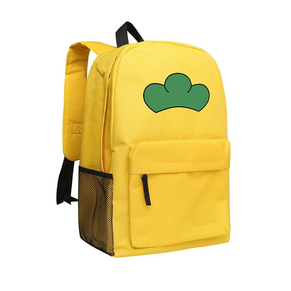 Japanese Anime Backpack for Girls Boys Osomatsu San School Bag Cute Cartoon Schoolbag Matsuno Jyushimatsu Backpacks<br>