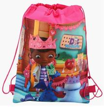 Doc Mcstuffins Check Up Time Cartoon Theme Travel Home Clothing Organizer Children Gift Toy Storage Bag