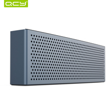 QCY metal M5 mini speaker bluetooth V4.1 wireless portable 3D stereo sound system MP3 music audio player 3.5mm AUX TF card