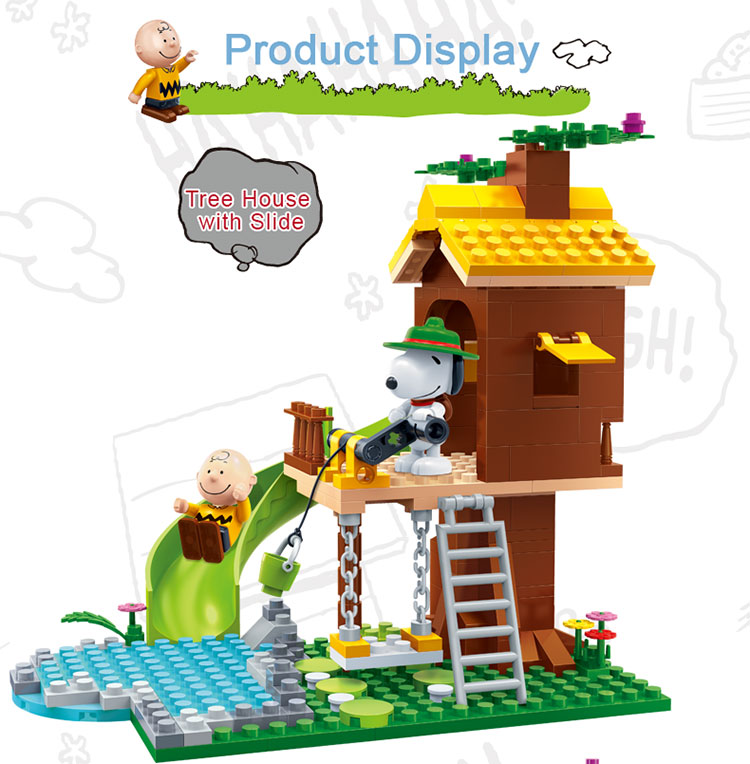 BanBao 7515 Tree House with Slide Building Blocks 23