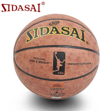 Factory wholesale Sporting Goods brand SIDASAI 7 # microfiber leather basketball ball basketball sports cowhide manufacturing