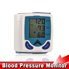 Health Care Automatic Wrist Blood Pressure Monitor Digital LCD Wrist Cuff Blood Pressure Meter Tonometer