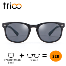 TRIOO Special Mix Color Blue Correction Glasses Shades Classic Brand Designer Black Lens Eyewear Fashion Acetate Eye Glasses(China)