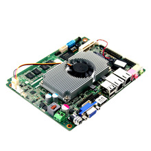 x86 single board computers sbc dc 9v-36v motherboard with Atom N2800+NM10 chipset,6 COM ports for Car PC(China)