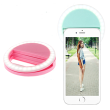 New Selfie Ring Light Portable Flash Led Camera Phone Photography Enhancing Photography for Smartphone iPhone Samsung(China)