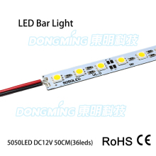 10pcs/Lot  36/72 Leds 0.5m LED bar light 5050 5630 7020 8520 4014 2835 SMD 12V led rigid strip light white/warm white/RGB