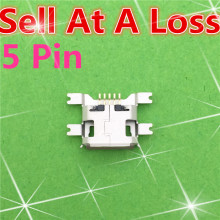 10pcs G22 5pin Female Micro USB Connector Socket SMD 4 feet Widely Used In Tablet Phone PDA Charging High Quality Sell At A Loss