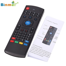 Binmer New  2.4G Remote Control Air Mouse Wireless Keyboard For XBMC Android Mini PC TV Box Nov28 Drop Shipping MotherLander