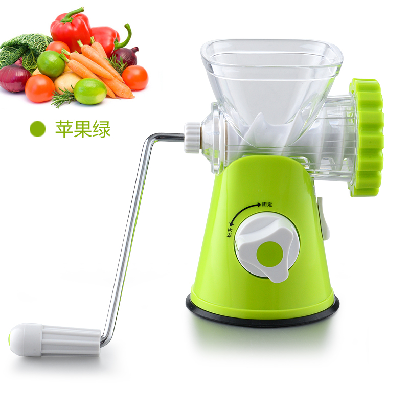 Professional Kitchen Manual Meat Grinder Household Chopper Sausage Machine Small Meat Spicy Shredder Plastic Meat Mixer<br>