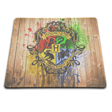 Fast Professional custom Harry Potter Hogwarts Logo Rectangle Non-Slip Rubber MousePad Computer Mouse pad for home and office