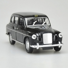 High Simulation Welly 1:36 London TAXI Diecast alloy car model toy with pull back for children toys gifts free shipping