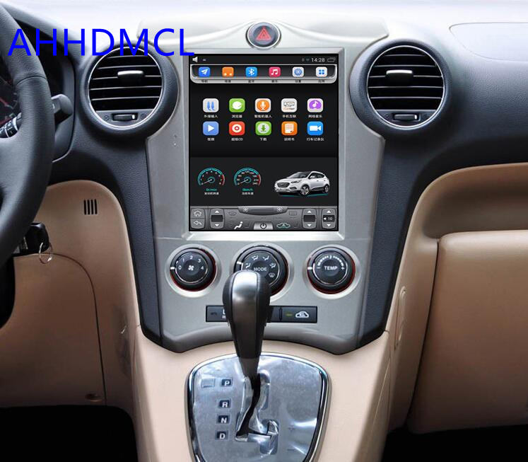 Car PC PAD Tesla Style Multimedia Player Android 7.1 GPS For Kia Carens Manual AC Edition 2006 20072008 2009 2010 2011 2012 2013