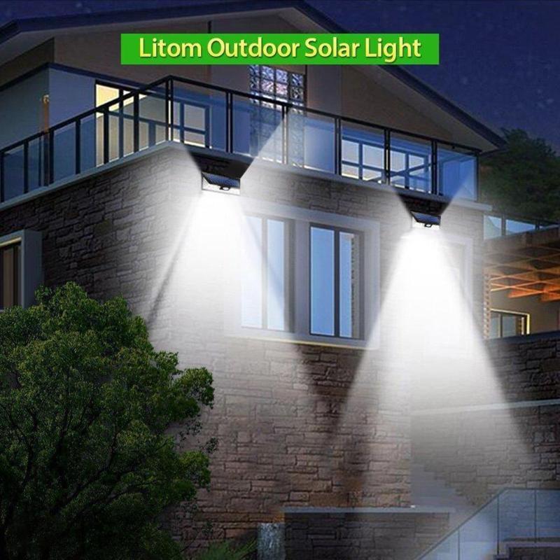 كشاف يعمل على الطاقة الشمسية للحدائق 4