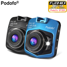 Podofo Mini Car DVR Podofo A1 Full HD 1080P Night Vision Vehicle Car Camera DVRs Recorder Video Registrator Box Carcam Dash Cam