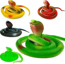 Halloween Realistic Soft Rubber Tricky Toy Simulation Snake Garden Props Joke Prank Gift Novelty Playing Jokes Scary Toys(China)