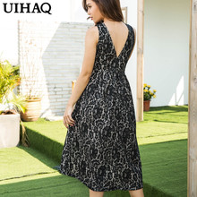 Buy New Fashion Ukraine V-neck Lace Sexy Dresses Autumn Dress Plus Size Vestidos Summer Dress Women Vestido de festa WG497 for $16.99 in AliExpress store