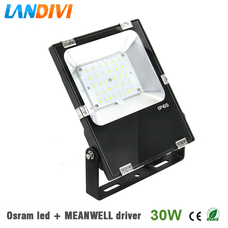 Online buy wholesale led well lights outdoor from china led well mean well driver led flood light outdoor 30w ultrathin 5years warranty ip65 waterproof spot lighting with mozeypictures Gallery