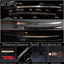Nihontou(Japanese Sword) Customization Tsuka(Handle)/Blade/Saya(scabbard) Customization Select Habaki/Seppa/Tsuba To Assemble