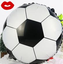 2pcs/lot Football  Foil Balloons Birthday Party Decoration Aluminum Balloon Kids toys