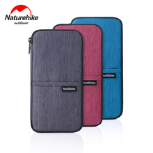 Naturehike Multifunctional Outdoor Wrist Bag For Cash Passport Cards 3 Colors Travel Hiking Sports Travel Wallet Bag(China)