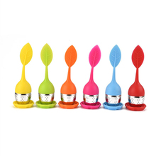 Tea tool Interesting Kitchen Tools Cute Mr Teapot Tea Infuser/Tea Strainer/Coffee & Tea Sets/silicone(China)
