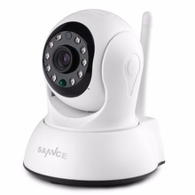 Buy SANNCE Wireless HD 720P IP Camera 1MP CCTV Security Camera Indoor Baby Monitor two way Audio support 64GB TF Card for $27.53 in AliExpress store