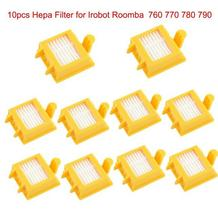 10 pcs Hepa Filters clean Dust filter kit for iRobot Roomba 700 700 Series 760 770 780 790 Free Shipping Replacement(China)