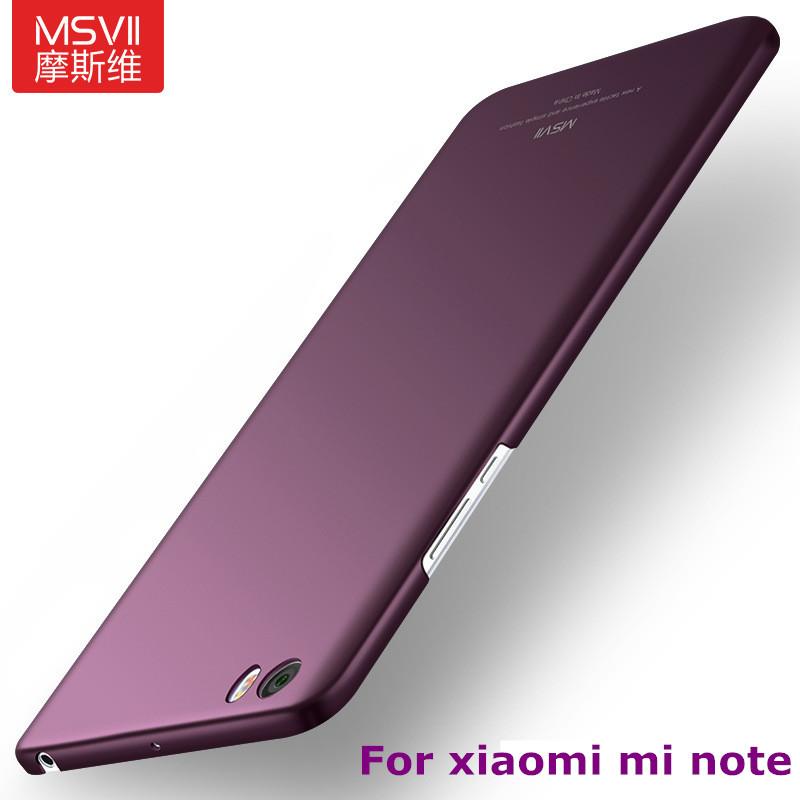 Original-MSVII-Coque-Xiaomi-Mi-Note-Case-Hard-Plastic-Matte-Back-Cover-360-Full-Protection-Housing