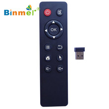 Factory Price Binmer 2.4G Wireless Air Mouse Keyboard Remote Control for PC TV Android TV Box Free Shipping