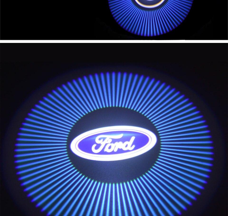car door light welcome lamp auto decoration bulb car brand logo projector (5)