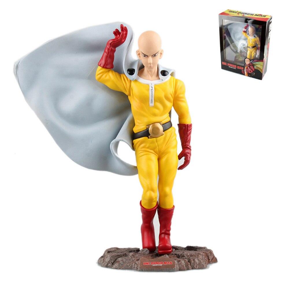 Comics One Punch Man Saitama PVC Figure Free Shipping<br>