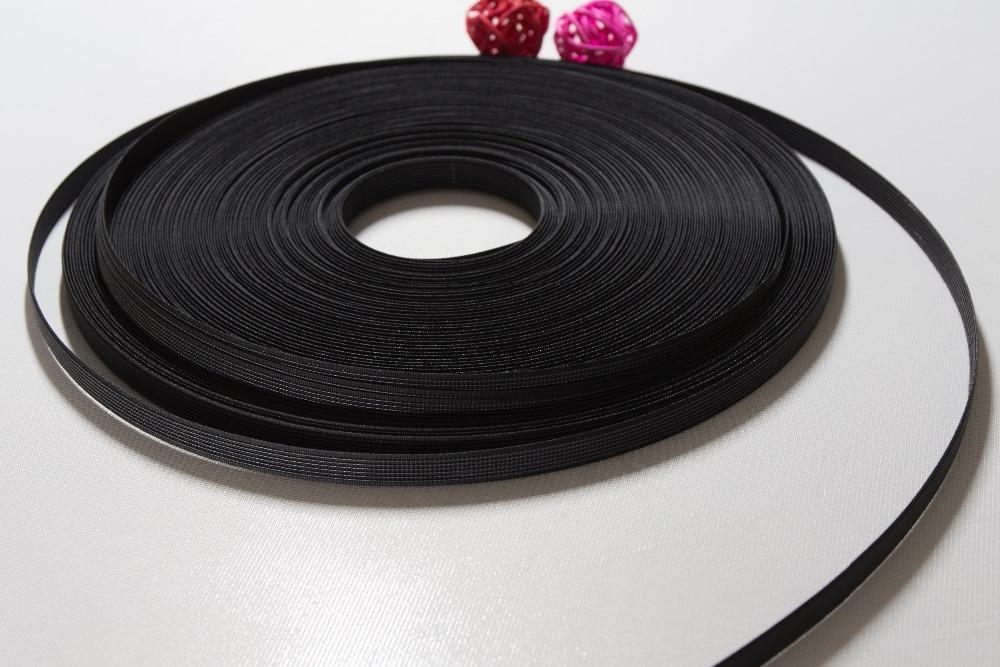 12mm~Clear. 500 PCS~Rigilene Polyester Boning End Caps