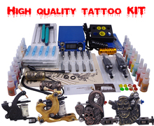 complete tool set makeup permanent machine set 4 digital tattoo machine tattoo guns starter kit