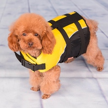 Free Shipping Small Dog Pet Life Jacket &Coat Puppy Safety Float Vest Life Preservers Comfortable Safety Clothes Pet Supplies(China)