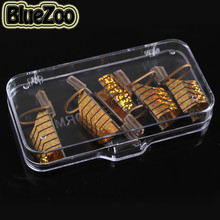 BlueZoo 5 Pcs/pack Nail Art Phototherapy Metal Oaper Tray Nail Art Aluminum Paper Tray Nail Makeup Tools Supplies Gold/Silver