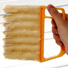 2017 New Arrival Window Air Conditioner Duster Dirt Clean Cleaner Microfibre Venetian Blind Brush Hot Sale(China)