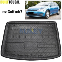 Rear Trunk Liner Boot Cargo Mat Tray Floor Carpet Mud For Volkswagen VW Golf 7 Mk7 Hatchback Hatch 2013 2014 2015 2016 2017