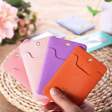 YIYOHI Candy Colors Unisex Shaped Named Card Holder Employee Identity Badge With Lanyard Card Holder Bus ID IC Card Holders