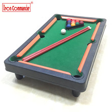 Iron Commander Billiards Snooker & Pool set Mini desktop simulation Novelty billiards table sets gift for children's play sports