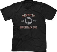 2017 Latest Fashion T-shirt Bernese Mountain Dog Est. 1907 Brand Clothing Men t shirt
