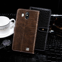 "Buy Case Homtom S16 Case Cover 5.5"" Crocodile Grain Flip Leather Case Homtom S16 Cover Business Phone Case for $7.49 in AliExpress store"