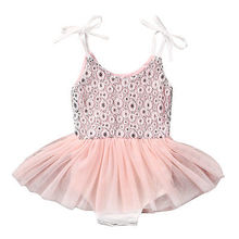 Cute Flower Girl Princess Sequins Sleeveless Dress Toddler Baby Wedding Fancy Party Tutu Dresses