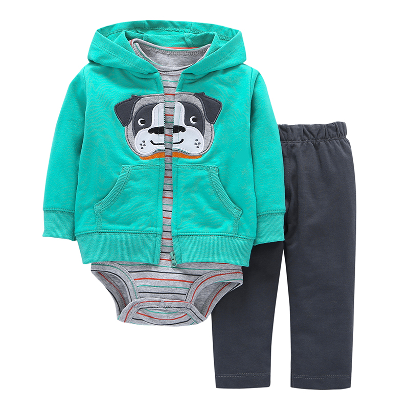 Leopard grain 17 New model for girl Free ship children baby girl boy clothes set ,kids bebes clothing set Casual wear 40